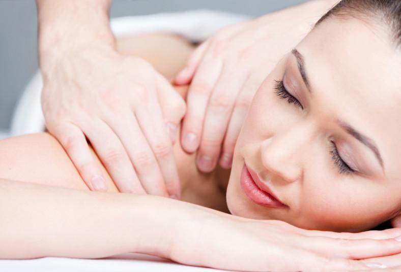 soluciones, estéticas, masaje, cuerpo, completo, compresas, calientes, chocolate