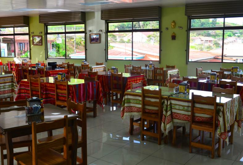 restaurante, museo, trotamundos, olla, carne, porción, arroz, almuerzo, cartago