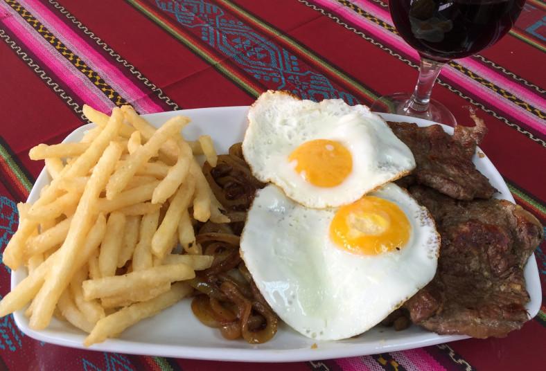 restaurante, museo, trotamundos, asado, chileno, bistec, pobre, arroz, camarones