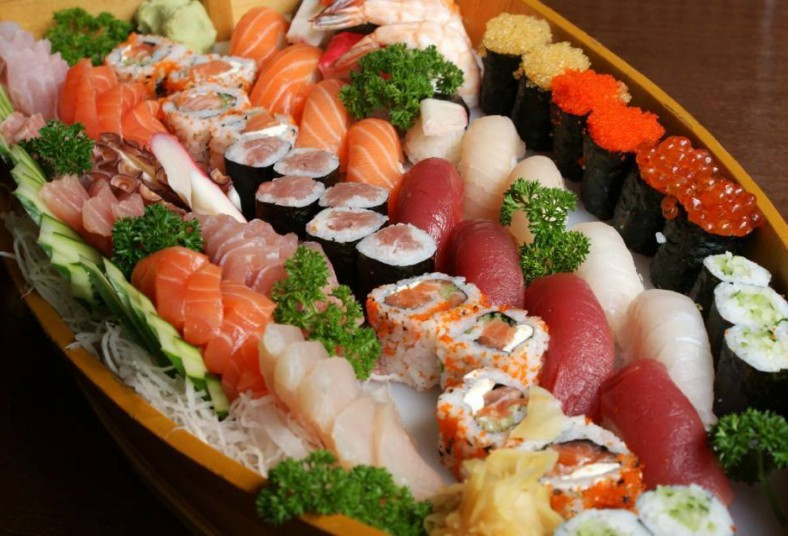 hanabi, sushi, menú, completo, japonesa, fuertes, entradas, comida, oriental,