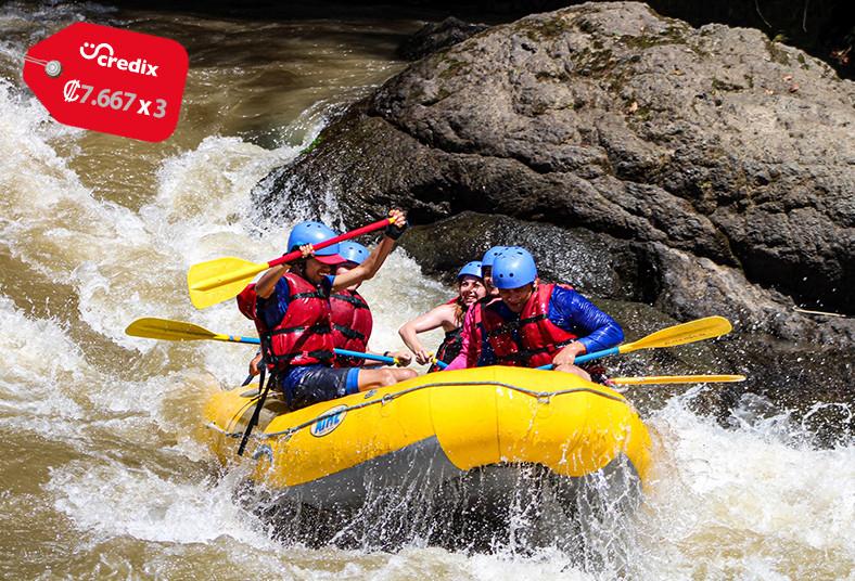 adrenalina, rafting, eco, adventure, río, pacuare, merienda, turrialba, amigos