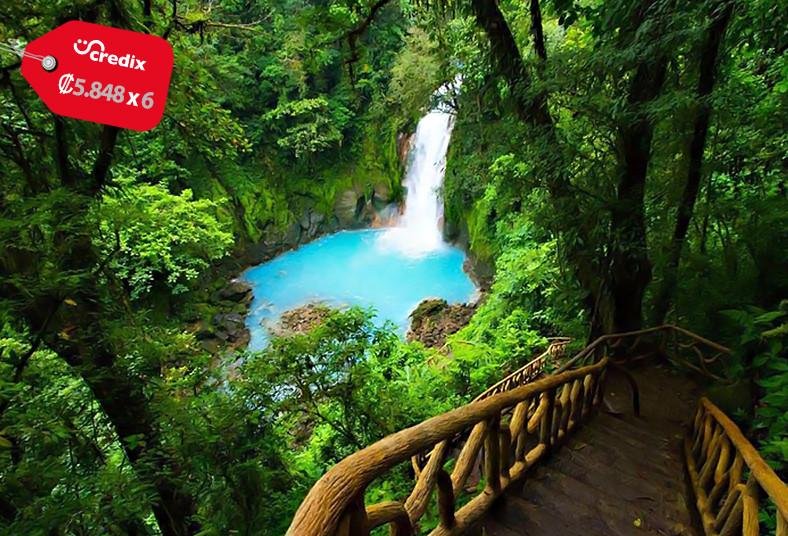 A&E, Tours, Travel, río, celeste, desayuno, almuerzo, transporte, puente, aguas