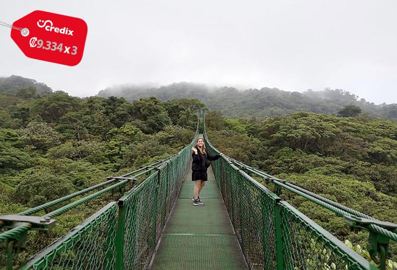 A&E, Tours, Travel, almuerzo, monteverde, puentes, colgantes, caminata, guiada