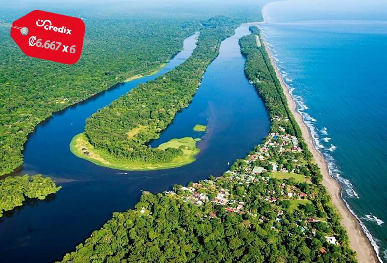 A&E, Tours, Travel, desayuno, almuerzo, transporte, tortuguero, canoas, pueblo