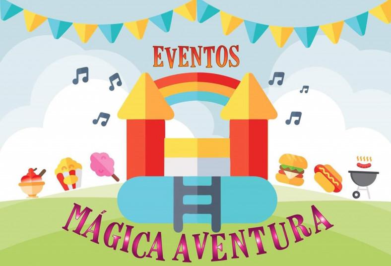 Eventos, Mágica, Aventura, inflables, palomitas, burbujas, música, transporte,