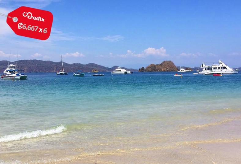 catamarán, alba, isla, tortuga, desayuno, almuerzo, café, playa, delfines, monos