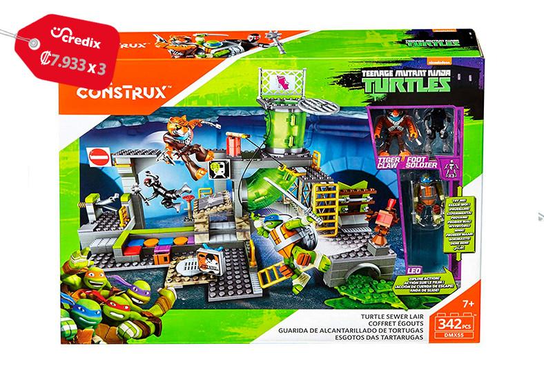 Jugueterías, TOYS, tortugas, ninja, guardia, alcantarillado, microfigura, niños