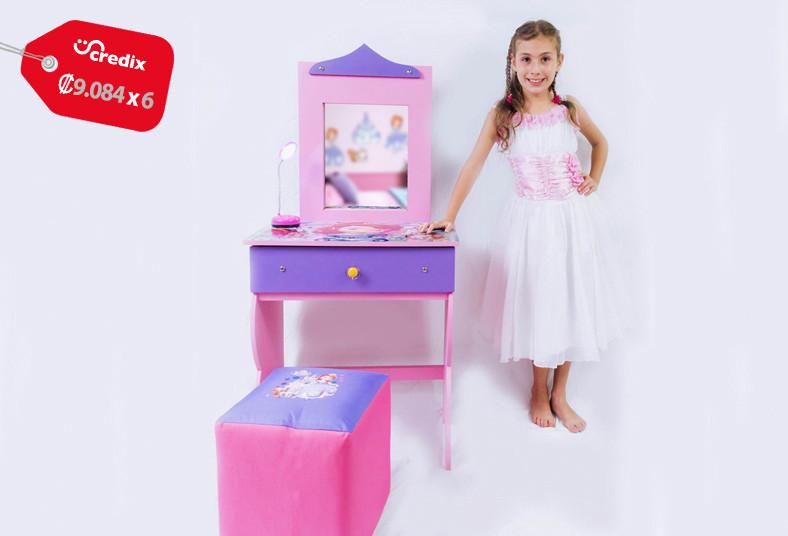 muebles, alex, coqueta, niñas, frozen, princesa, sofía, cómoda, diseños