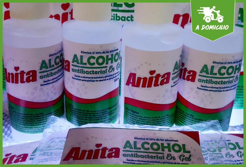algo, bonito, botella, alcohol, gel, jabón, líquido, bolsas, refill, coronavirus