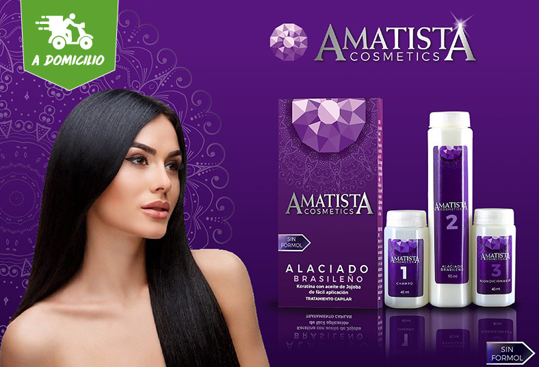 Amatista, Cosmetics, acondicionador, champú, alisado, brasileño, aceite, jojoba