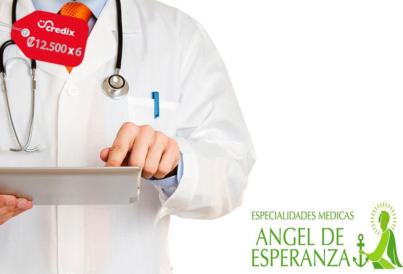 especialidades, médicas, ángel, esperanza, citología, diagnóstico, papiloma,