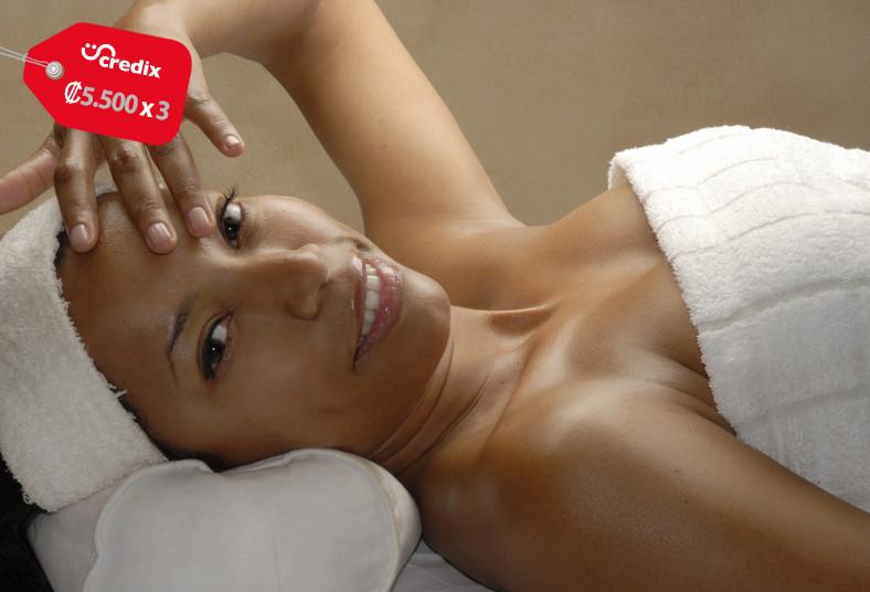 Angel's, salon, estetica, exfoliación, masaje, espalda, aromaterapia, copa, café
