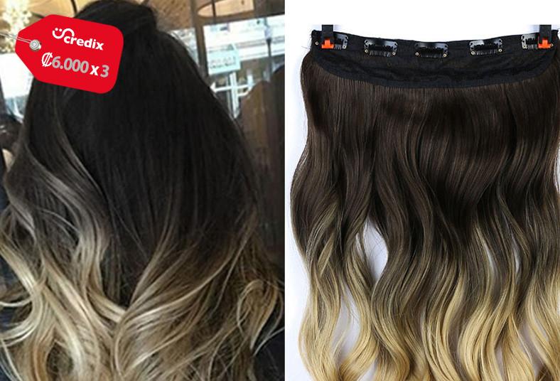 Angie, Beauty, extensiones, cabello, seda, clips, lavado, ondulado, colores,