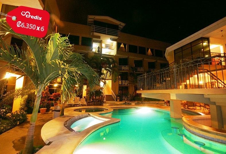 hotel, balcón, mar, jacó, pareja, familia, restaurante, mar, playa, comida, paz