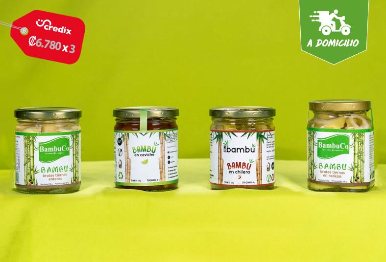 bambuco, ceviche, chilera, vinagreta, brotes, natural, rodajas, coronavirus