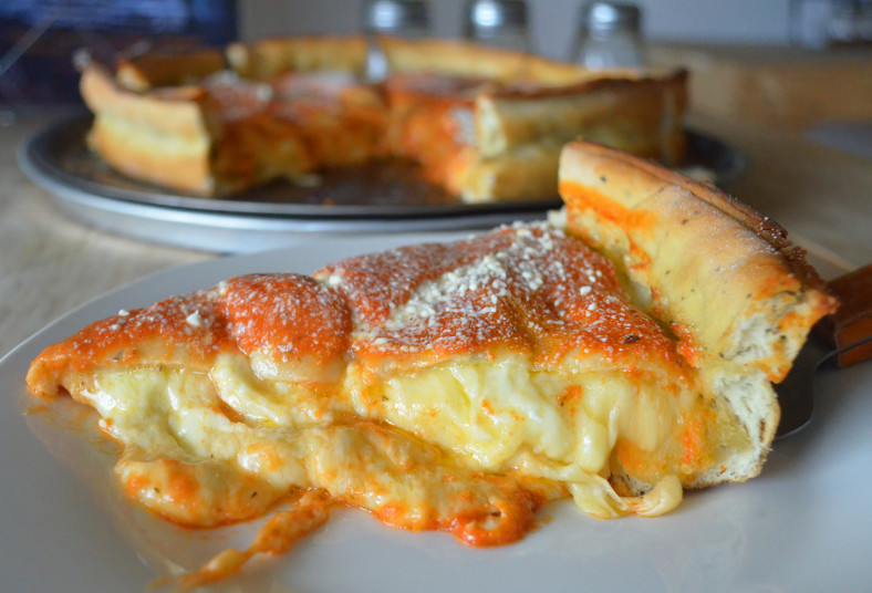 El, Barco, Pirata, Pizza, Pub, estilo, chicago, amigos, almuerzo, jamón, queso,