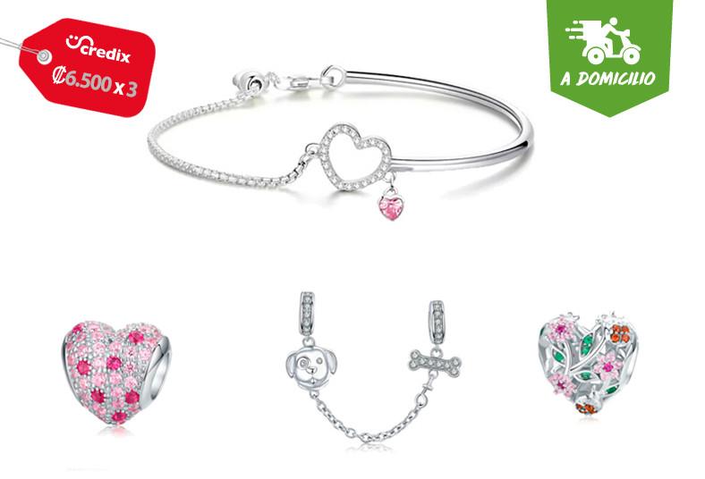cr, charms, joyería, plata, 925, aretes, anillos, collares, pulseras, cadenas,