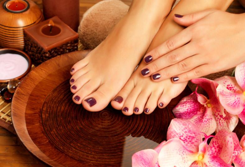 Consentí tus manos y pies! Hacete un manicure y pedicure spa ...
