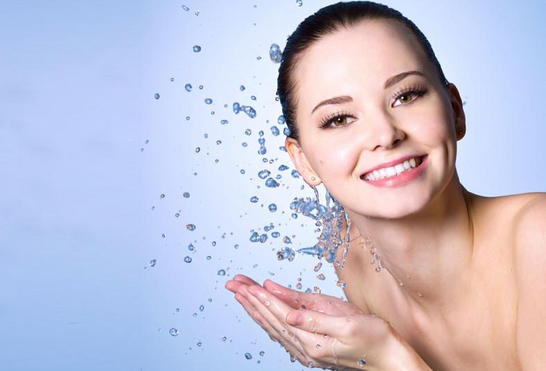 estética, bio, sem, tratamiento, facial, limpieza, profunda, máscara, led, piel
