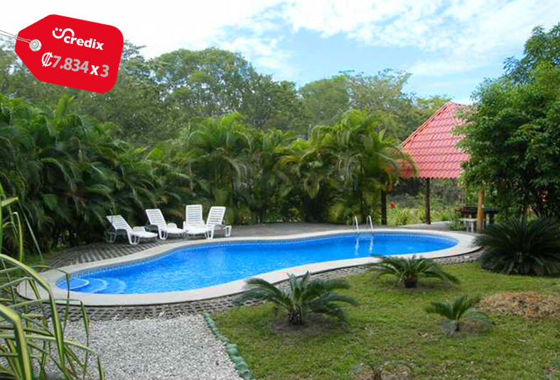 Blue, Jay, Lodge, malpaís, desayuno, piscina, playa, naturaleza, bungalow,