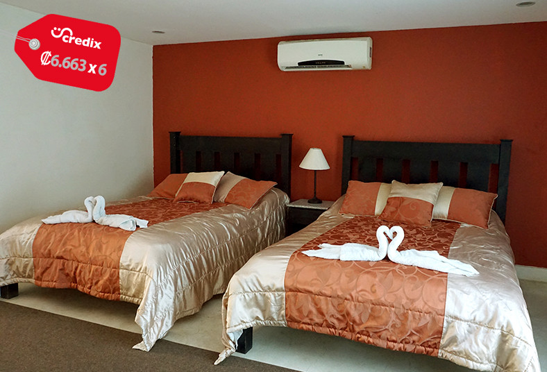Hotel, Blue, Sea, Resort, Spa, habitación, ejecutiva, desayuno, típico, playa