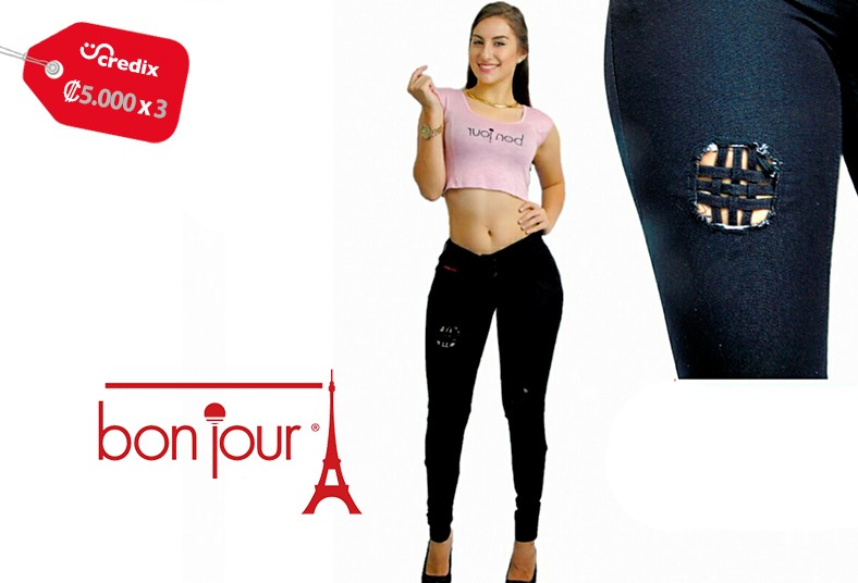 bon, jour, jeans, telas, shika's, colores, estilos, levanta, cola, mujer,  marca