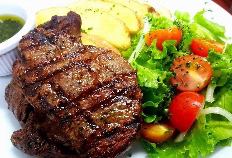 Búfalo, Grill, Market, restaurante, comida, ensalada, parrillada, carne, cortes