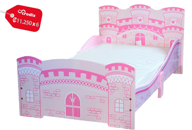 Jugueterías, TOYS, cama, castillo, descanso, niñas, comodidad, relajación