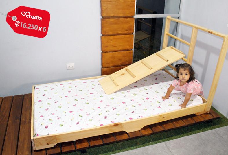 camas, costa, rica, montessori, escalador, individual, niños, autonomía, acceso,