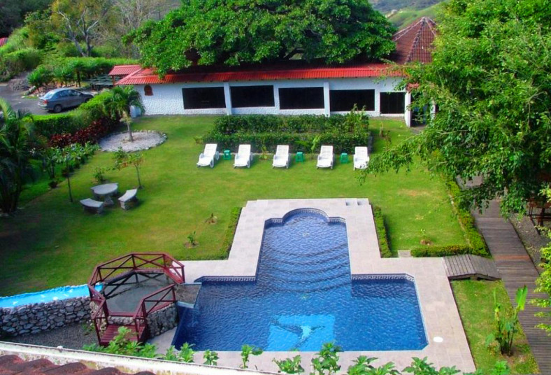 Adventure, Park, Hotel, Vista, Golfo, hospedaje, desayuno, laberinto, piscina,