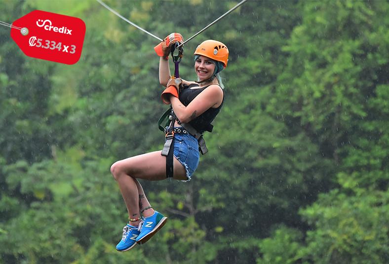 Carara, Adventure, Park, tour, canopy, tarzan, swing, puentes, colgantes, cables