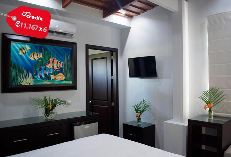 carver, Nosara, suite, equipada, playa, familia, cocina, equipada, wi-fi, vista