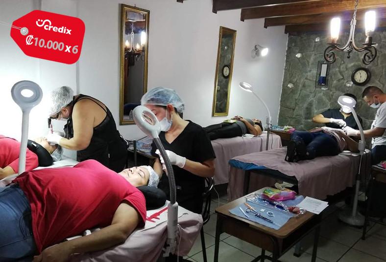 Centro, Capacitación, Estético, pestañas, lifting, depilación, vacumterapia,