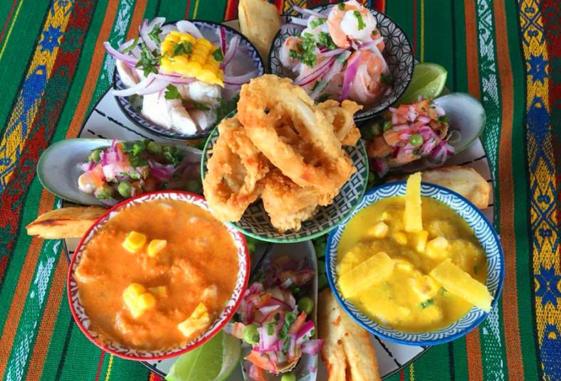 ceviche, peruano, express, tiradito limeño, ceviche, peruano, choritos, chalaca