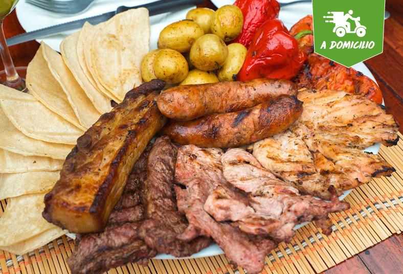 chirraca, steak, house, parrillada, acompañamientos, refrescos, hierbabuenas, té