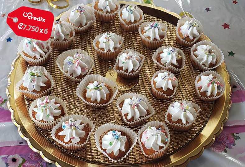 Chocolate, Delicious, mesa, dulces, mini, cupcakes, brigadeiros, brownie, mousse