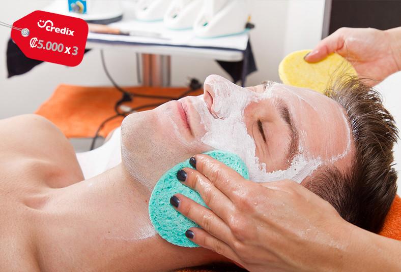 Citron, Esthétique, limpieza, facial, profunda, mascarilla, extracción, padre,