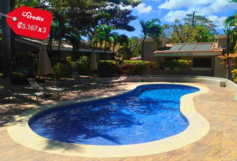 villas, coco, amuebladas, piscina, playas, coco, pareja, familia, zonas, verdes,