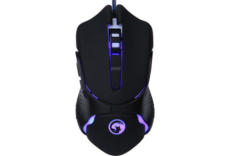 compured, internacional, mouse, gaming, marvo, scorpion, g801, gamer, luz, cable