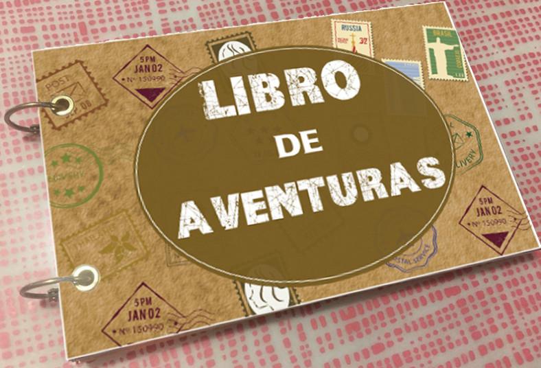 copias, exactas, libro, aventuras, libretas, ecológicas, regalo, personalizado,