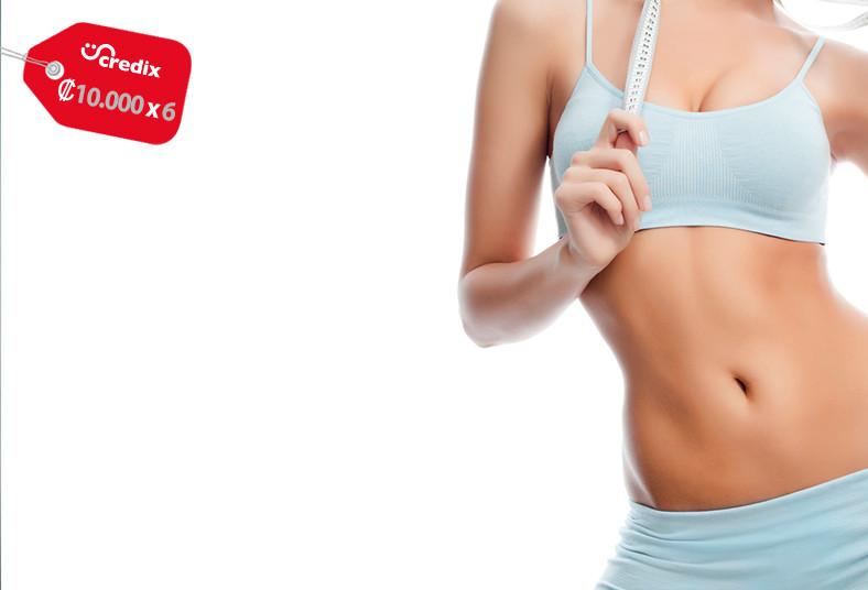 cosmetic, center, paquete, reductivo, reafirmante, grasa, celulitis, abdomen,