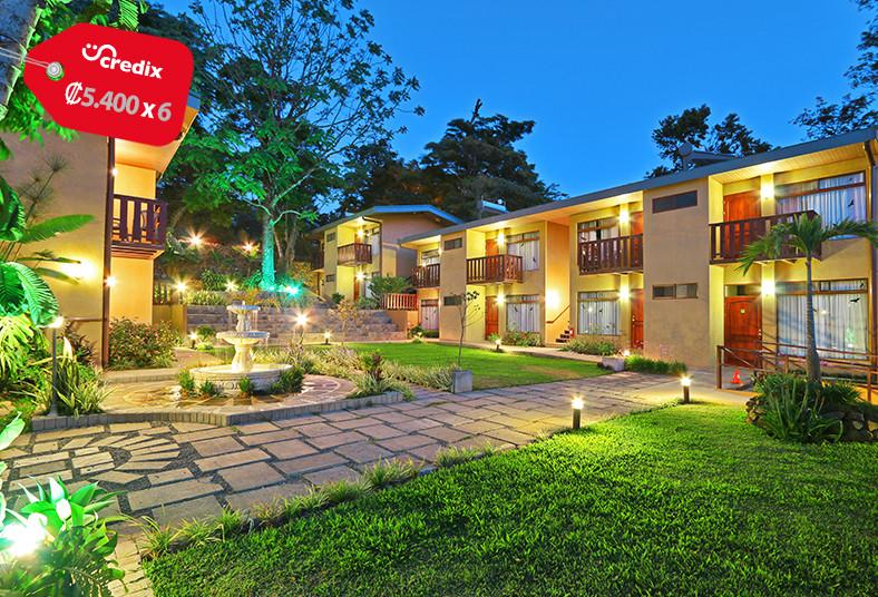 Monteverde, Country, Lodge, desayuno, naturaleza, pareja, familia, poco, piscina