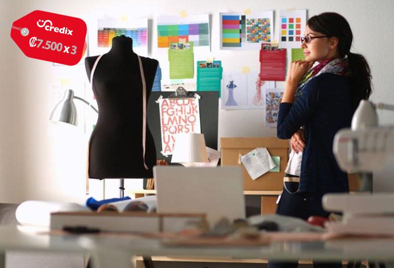 Escuela, Diseño, Moda, Endorfhina, curso, costura, mantenimiento, proyecto, tela