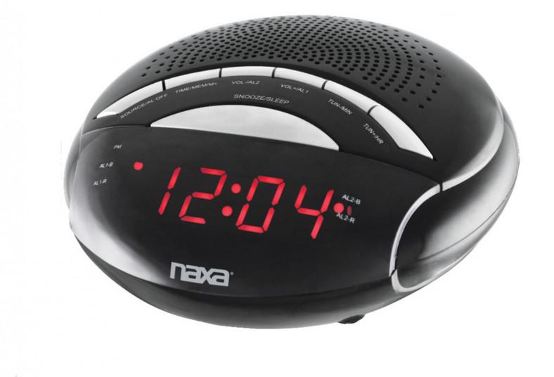 Repuestos, Para, Equipo, Pesado, FM, reloj, despertador, digital, naxa, alarma,