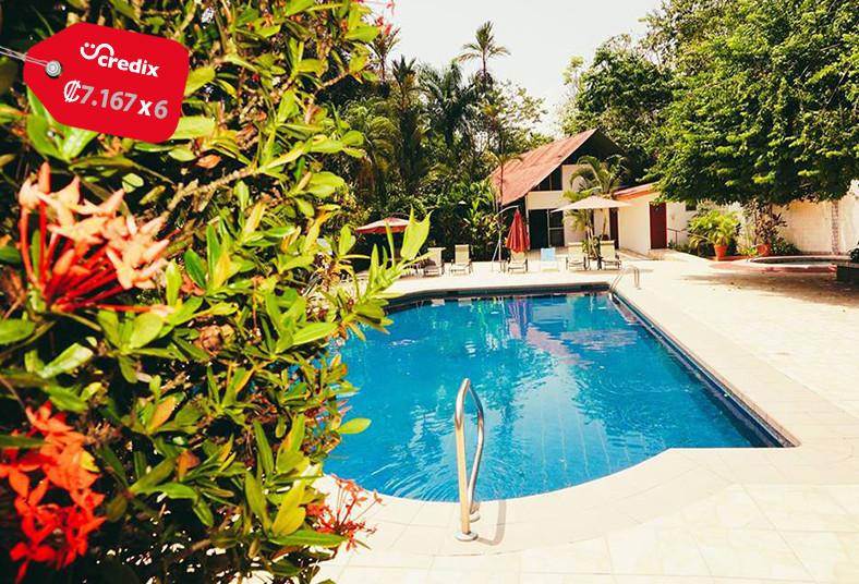 hotel, divisamar, quepos, naturaleza, playa, familia, desayuno, típico, piscina