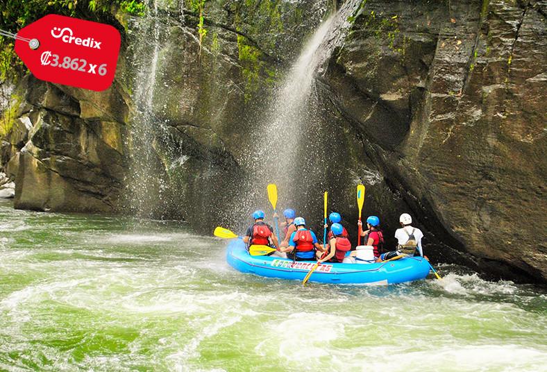 ecoaventuras, rafting, turrialba, almuerzo, caminata, catarata, transporte, tour