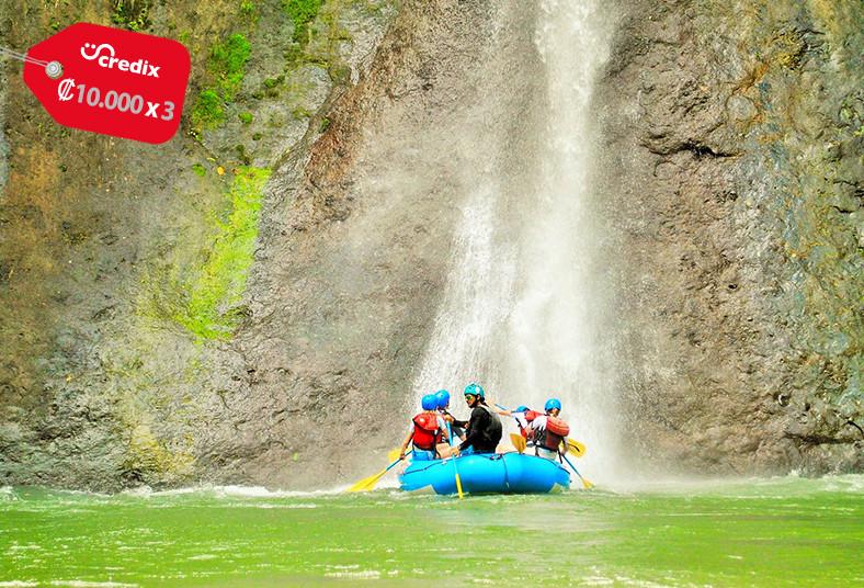 ecoaventuras, rafting, turrialba, almuerzo, canyoning, catarata, transporte,