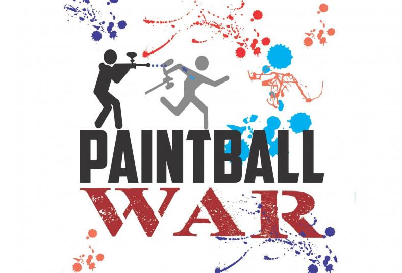 Paintball, War, jugadores, 50, bolitas, llantas, carros, tarimas, amigos, famili