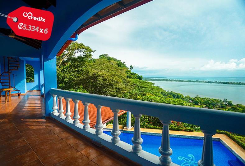 El, Paraíso, Azul, habitación, estándar, cabina, equipada, desayuno, playa