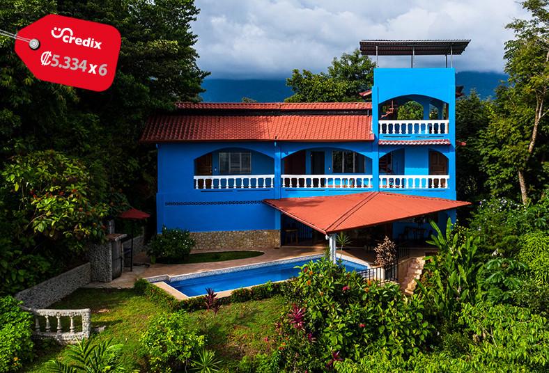 El, Paraíso, Azul, habitación, estándar, doble, desayuno, playa, sol, naturaleza